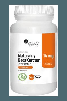 Natural BetaCarotene 14mg