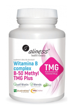 Vitamin B Complex B-50 Methyl TMG Plus