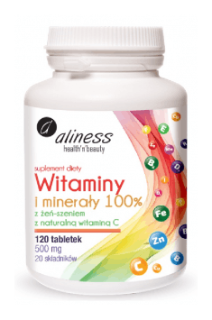 Vitamins and Minerals 100%