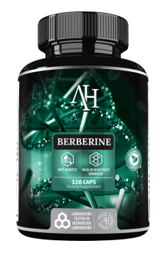 Recommended supplement containing Berberine in the optimal form of Berberine HCl - Berberine from Apollos Hegemony