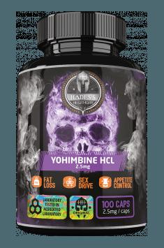 Yohimbine HCL 2.5mg
