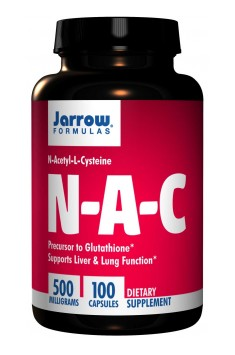 N-A-C (N-Acetyl-L-Cysteine) 500mg