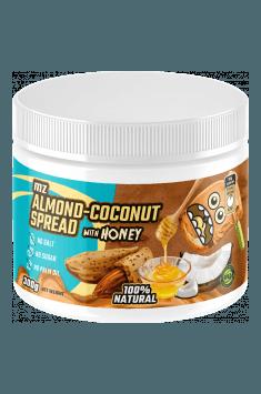 Almond-coconut cream with honey