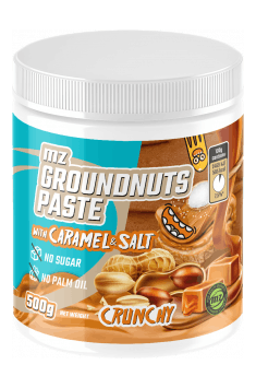 Groundnuts paste with carmel & Himalayan salt