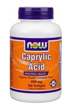 Caprylic Acid 600mg