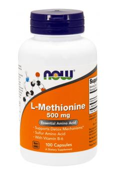 L-Methionine 500mg