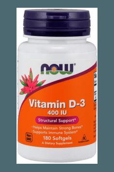 Vitamin D-3 400 IU