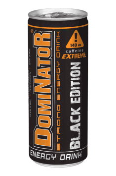 Dominator Strong Energy Drink Black Edition