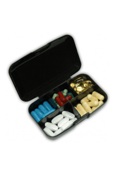 Pill Box Born In The Gym