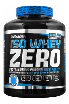 biotech usa iso whey zero online shop with best prices. Black Bedroom Furniture Sets. Home Design Ideas