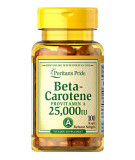 Beta-Carotene 25.000 IU 100 softgels