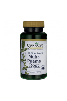 Muira Puama Root 400mg